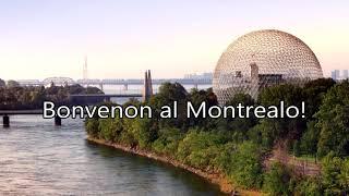 Bonvenon al Montrealo!