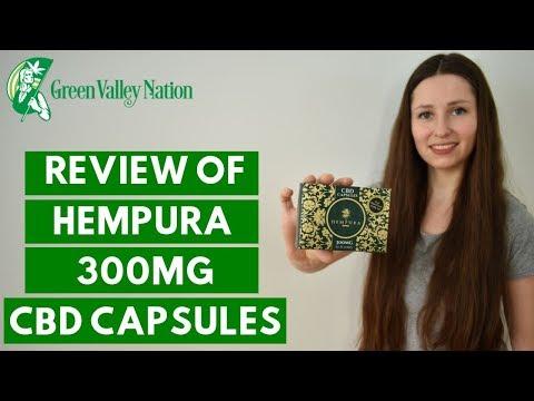 WE WERE NOT EXPECTING THIS - Hempura 300mg Full-Spectrum CBD Capsules Review