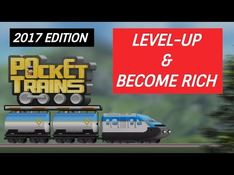 [BONUS GIVEAWAY] Pocket Trains: How To Level-Up Fast & Become Rich | 2017 Edition!