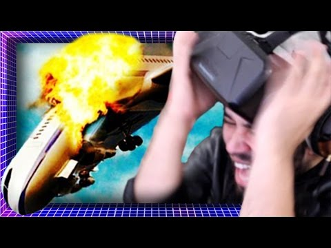 Surviving A Plane Crash In VIRTUAL REALITY! | Oculus Rift DK2 Gameplay