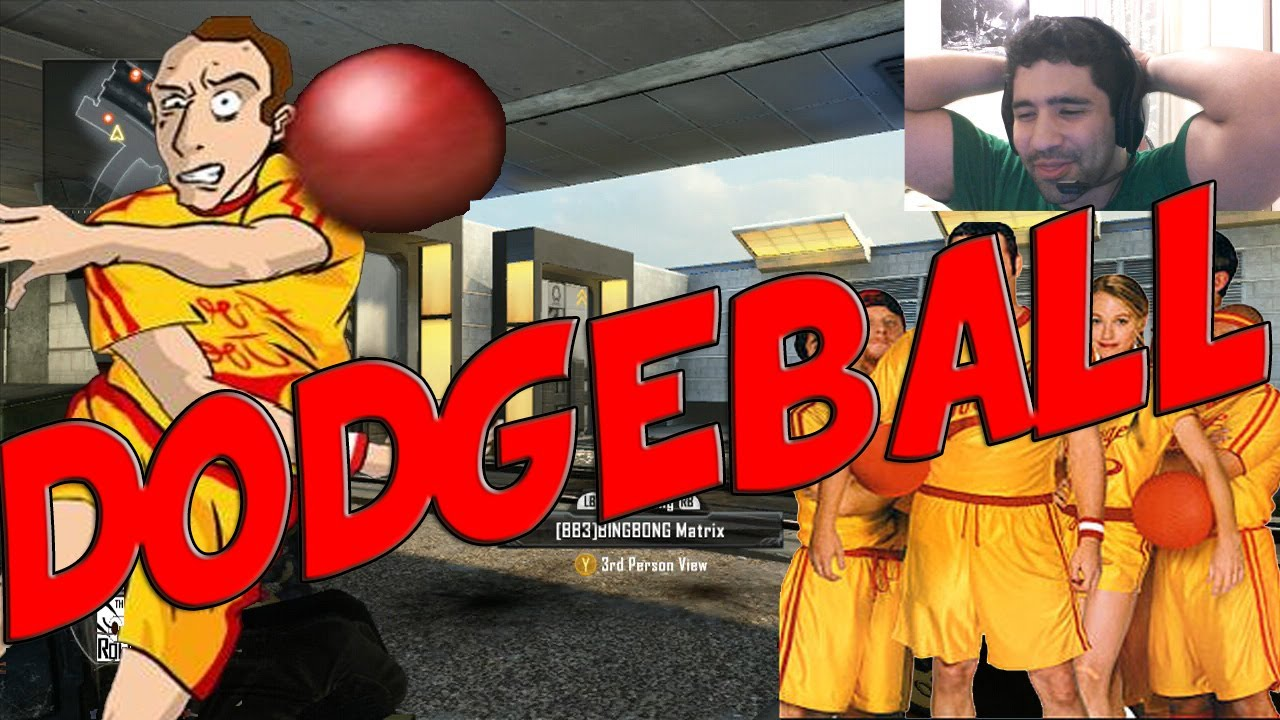 Dodgeball: Damn The Average Joes - Black Ops 2