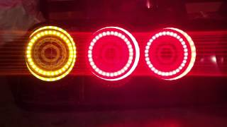 Fc3s S5 Led Tail Light Conversion Quick Test