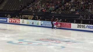 Yura MIN / Alex GAMELIN FD clips 2016 Skate America 10/23/16