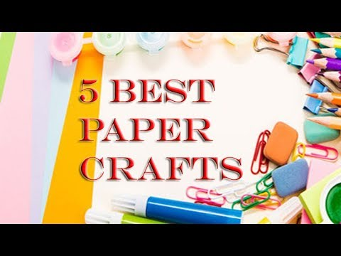 Best 5 Paper Craft You Can Make Easily At Home Easy Origami Paper
