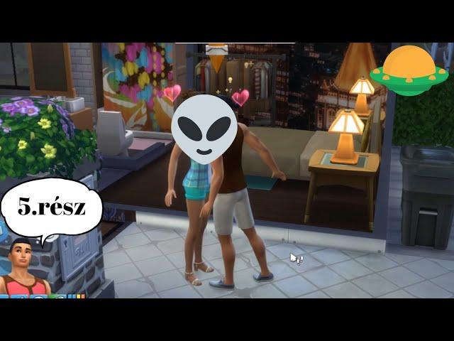 🛸 Becserkészés📡(5#) Földönkívüli invázió kihívás/Sims 4/Alien takeover challenge