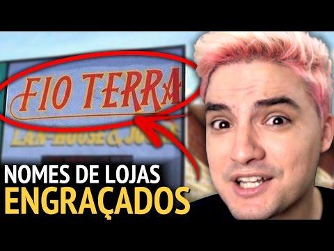 FIO TERRA - NOMES DE LOJAS ENGRAÇADOS