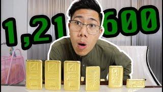 ซื้อจริง!! ทองคำ 1 กิโล   หมดไปเป็นล้าน!