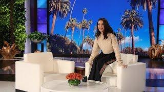 Mila Kunis Reveals Secret Footage of Her Neighbor Ellen
