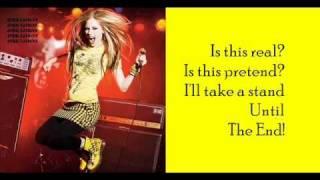 Avril Lavigne - Alice In Wonderland Lyrics