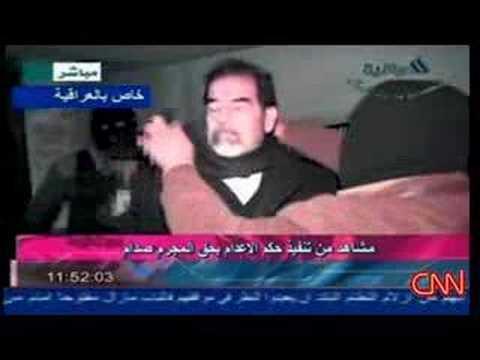 [CNN] Saddam Hussein's Execution footage