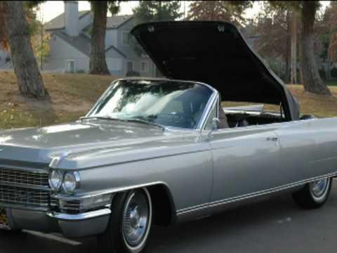 1963 Cadillac Eldorado Convertible! - YouTube