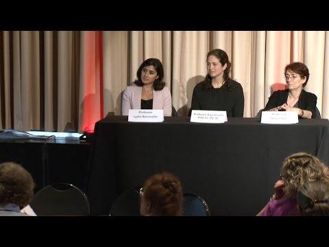 ALC 2016: Professors Hazel Sive, Lydia Bourouiba, and Elsa Olivetti PD '07, PhD '07, PD '08