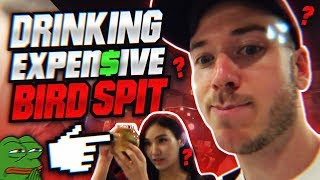 DRINKING EXPENSIVE SPIT??   SINGAPORE