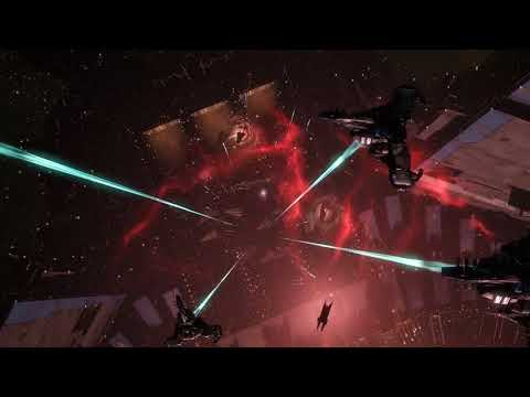 EVE Online - Biggest Ever Battle Captured Footage