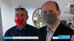 Ensemble à Chevigny-Saint-Sauveur : fabrication solidaire de masques