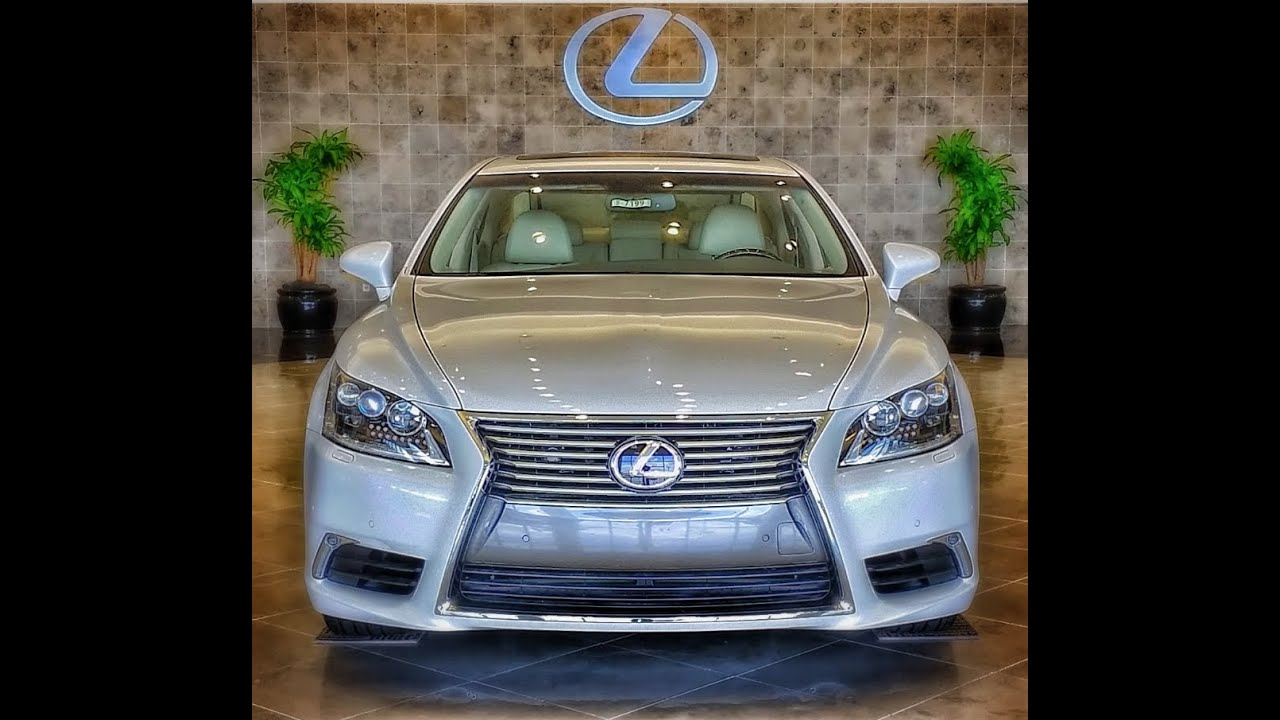 2013 Lexus Ls460 For Sale: 2013 Lexus LS460 Advanced Illumination System Demo