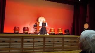 駿河療養所 曹洞宗青年会和太鼓集団「鼓司(くす)」の演奏2