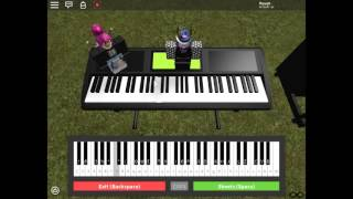 Roblox Piano - It Ain't Me By Selena Gomez(Note In Description)