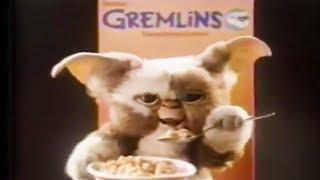 GREMLINS Cereal Commercial trailer (1984) Retro Horror