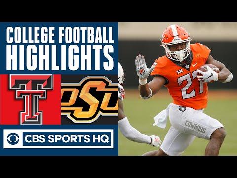 Texas Tech vs 23 Oklahoma State Highlights: Jackson's 3 TD runs lead to OSU win  CBS Sports HQ