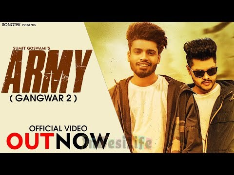 Sumit Goswami  Army  Latest Haryanvi New Song 2020  Sonotek Live