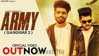 Sumit Goswami | ARMY | Latest Haryanvi New Song 2020 | Sonotek Live