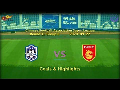 Tianjin Teda Hebei Zhongji Goals And Highlights
