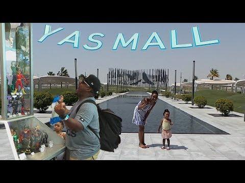 YAS MALL- FAMILY VACA. | Biggest Shopping Mall in ABU DHABI
