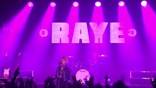 By Your Side - RAYE - Rita Ora Girls Tour - Trix Antwerp, Belgium - 22.5.2018