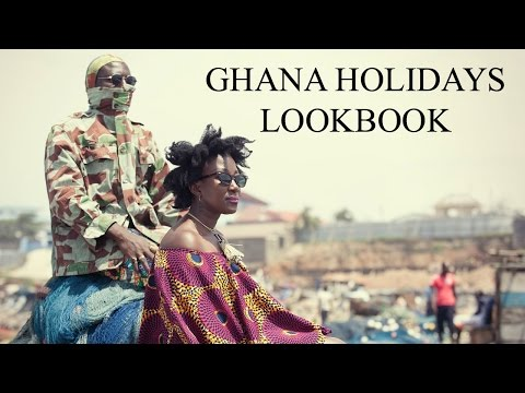 GHANA HOLIDAYS LOOKBOOK || FT. STELOO || AFRICAN PRINT || ANKARA || ADEDE