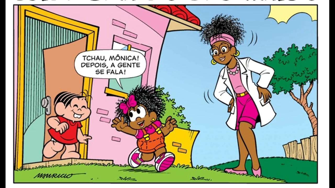 """Milena em """"cuide bem do seu amigo"""" - Turma da Mônica #1"""