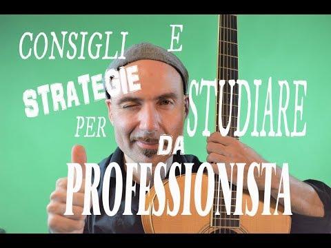 Consigli e strategie per studiare come un professionista. How to study Music like a pro.