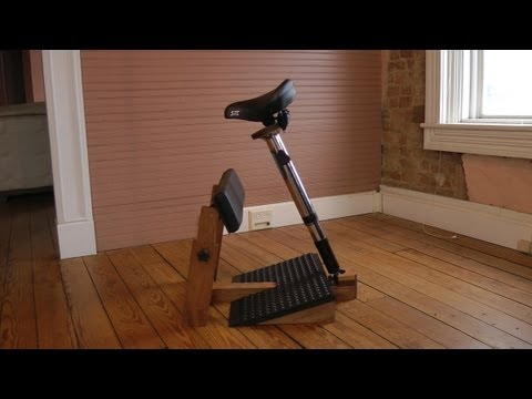 Standing Task Chair - YouTube