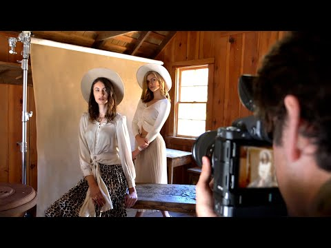 Free Fashion Photography Tutorial with Post Production