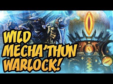 Wild Mecha'thun Warlock! | Rastakhan's Rumble | Hearthstone