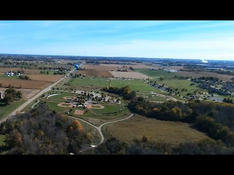 Bebop Drone, Great Fall Day at Helder Park, Holland Charter Township, Mi