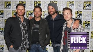 The Cast of Supernatural Talks Season 14   SDCC 2018   Comic Con 2018