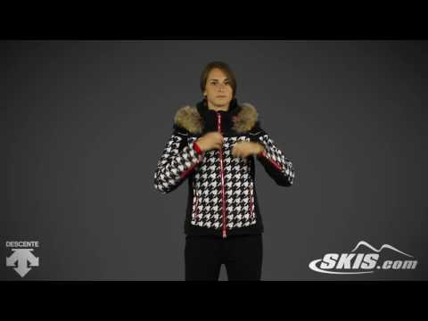 2017 Descente Raven Womens Jacket Overview by SkisDotCom