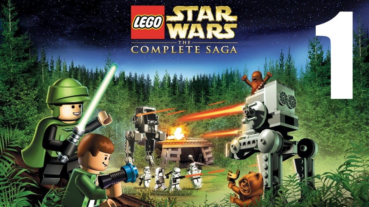 Lets Play Lego Star Wars Tcs Co Op Xbox 360 Part 1