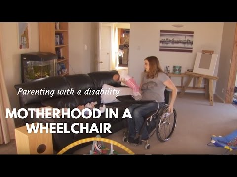 It's Twins: Parenting from a Wheelchair