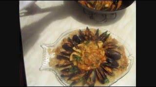 Сицилийский кус-кус с рыбой и морепродуктами)