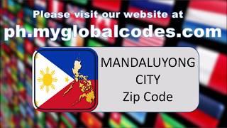 MANDALUYONG CITY ZIP CODE