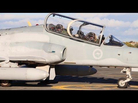 RAAF Hawk Visits RNZAF Base Auckland New Zealand  2014