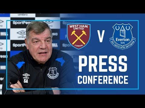 LIVE PRESS CONFERENCE: WEST HAM V EVERTON