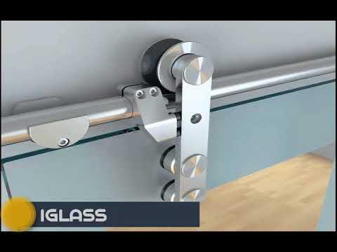 ابواب زجاج سيكوريت جرار - Glass Doors