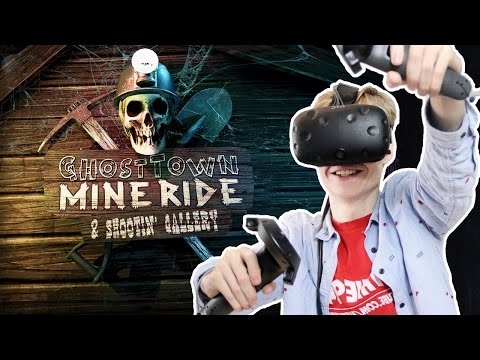 SCARY VR JUMPSCARES CONFIRMED | Ghost Town Mine Ride & Shootin' Gallery (HTC Vive Gameplay)