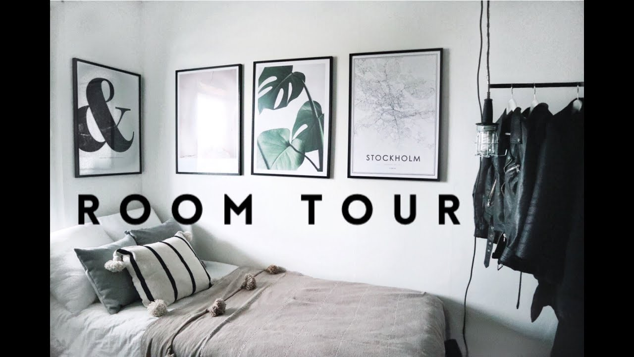 MY ROOM TOUR | Minimal, Simple, Monochrome | Desenio Collab