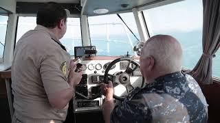 Сотрудники МЧС Абхазии совершили пробный  морской рейс  из Сухума в Сочи