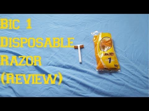 Bic 1 Disposable Razor (Review)