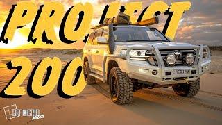 Project 200 Series Sahara -TJM Huntervalley Build Video